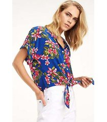 blusa esther tropical tommy hilfiger