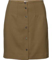 twill skirt kort kjol grön filippa k