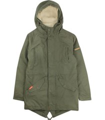 chaqueta conscious verde militar like it