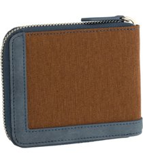 budweiser urban west zip-around wallet