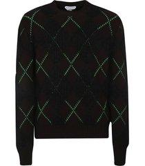 bottega veneta argyle sweater