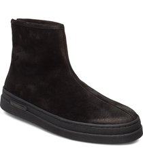 creek mid zip boot shoes boots winter boots svart gant