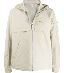 a-cold-wall* long sleeve concealed pocket jacket - neutrals