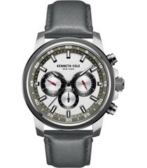 reloj gris kenneth cole new york