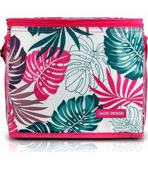 bolsa tã©rmica  grande jacki design praia piquenique pink - rosa - feminino - dafiti