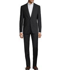 slim-fit stripe suit