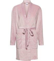 robe morgonrock rosa calvin klein