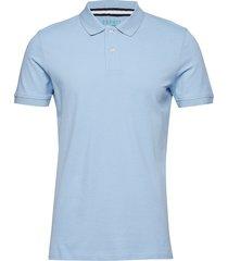 polo shirts polos short-sleeved blå esprit casual