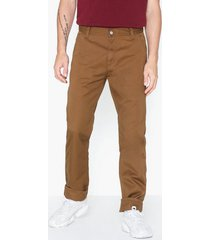 carhartt wip ruck single knee pant byxor brown
