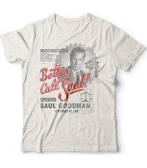 camiseta better call saul! - unissex