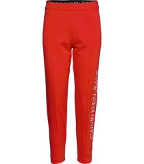 institutional joggin casual broek rood calvin klein jeans