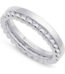 pierścionek jodhpur metal bead