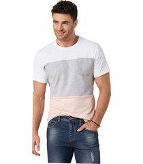 camiseta adulto masculino multicolor marketing  personal
