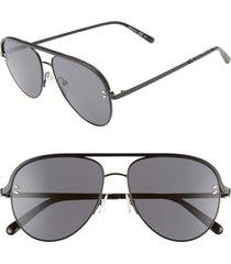 women's stella mccartney 58mm aviator sunglasses -
