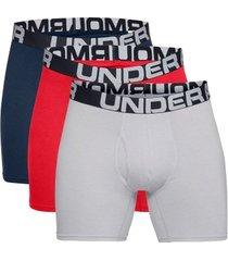 under armour 3 stuks charged cotton 6in boxer * gratis verzending *