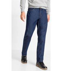 regular fit jeans en bermuda van biologisch katoen, straight (2-dlg. set)