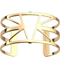 les georgettes by altesse triangular openwork adjustable cuff ibiza bracelet, 25mm, 1.0in