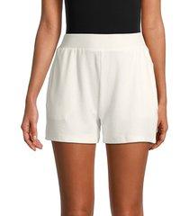 walter baker women's aiden 2-pocket shorts - off white - size m