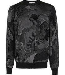 alexander mcqueen grey cotton sweatshirt