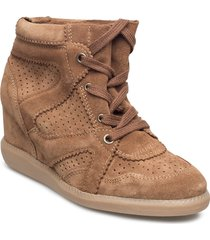 vibe shoes boots ankle boots ankle boot - heel brun pavement
