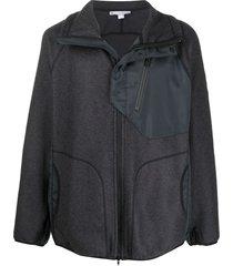 y-3 spread collar jacket - grey