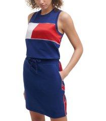 tommy hilfiger sport women's sleeveless flag dress