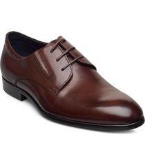 laced derby shoe snörade stövlar brun tga by ahler
