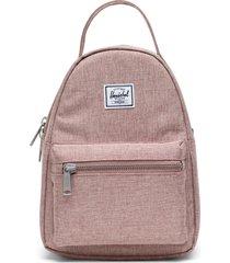 herschel supply co. mini nova backpack in ash rose crosshatch at nordstrom