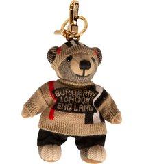 burberry bear sweater keyring