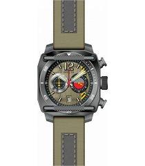 reloj invicta modelo 34979 beige, gris hombre