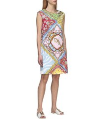 boutique moschino dress boutique moschino dress with mix of prints