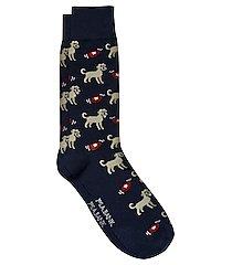 travel tech disc and dog dress socks, 1-pair
