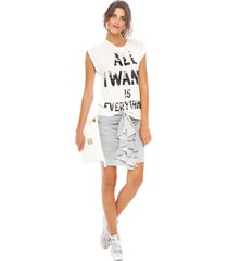all i want - amy gee - t-shirts - wit