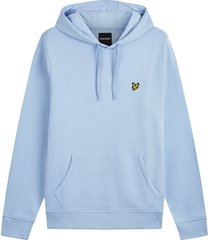 lyle and scott pullover hoodie licht blauw