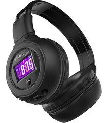audifonos bluetooth estereo zealot soporte tf y radio fm