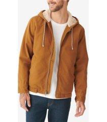 lucky brand men's hooded sherpa jacket