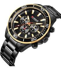 vigilanza impermeabile degli uomini dell'orologio della vita degli uomini dell'acciaio inossidabile dell'orologio del quarzo di stile di affari