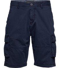 relaxed cargo shorts shorts cargo shorts blå lyle & scott