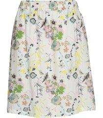 2nd harlow blissfull knälång kjol multi/mönstrad 2ndday