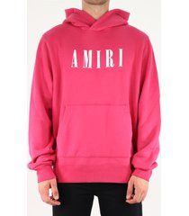 amiri amiri core logo hoodie