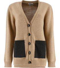 ganni buttoned cardigan