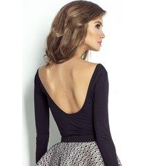 bluzka z odsłoniętymi plecami diana