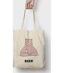 torba bear with beer