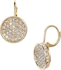 women's vince camuto crystal glitter earrings