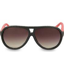 62mm two-tone novelty sunglasses