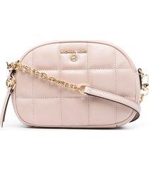 michael kors collection jet set charm crossbody bag - pink