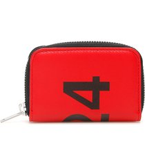 fourtwofour on fairfax card holder pouch with logo
