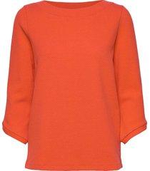 t-shirt 3/4-sleeve r blouse lange mouwen oranje gerry weber