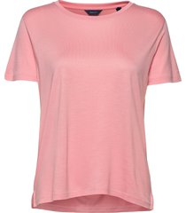 d1. light weight ss t-shirt t-shirts & tops short-sleeved roze gant