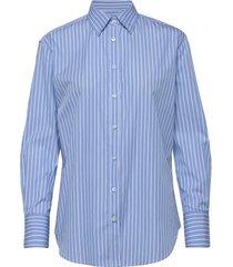 8750 - nube overhemd met lange mouwen blauw sand